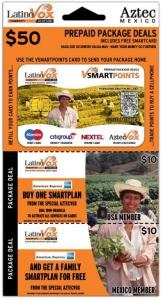 LatinoVox Smart Points Vouchercard Set Design