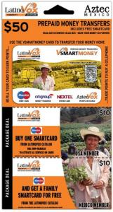 LatinoVox Smart Money Vouchercard Set Design