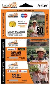 LatinoVox Smart VoucherCard Set Design
