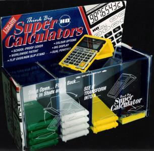 Super Calculator Display Design