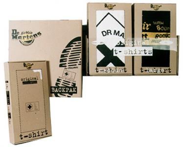 Dr Martens T-Shirt Packaging Design