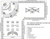 DutyFree Outlets Showcase Floorplan Design